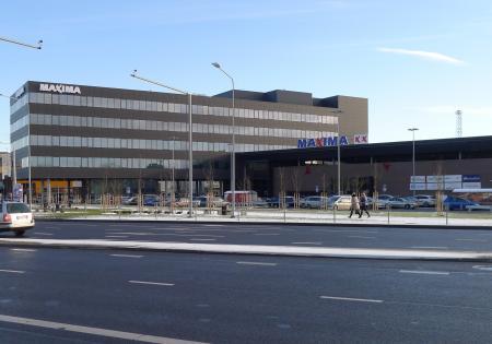 Parduotuvės Maxima XX prekybos salės vėsinimo sistema
