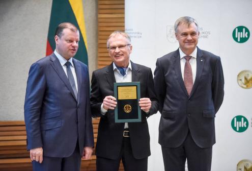 Объявлены победители конкурса «Литовский продукт (услуга) года 2017», органозованый конфедерацией производителей Литвы