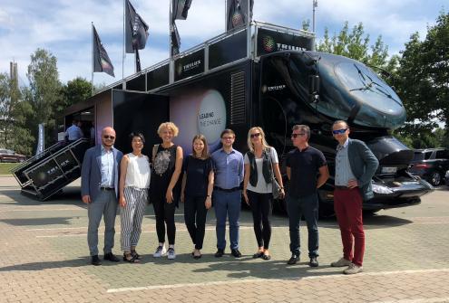"""""""Trilux Truck Tour 2018"""" в Риге"""